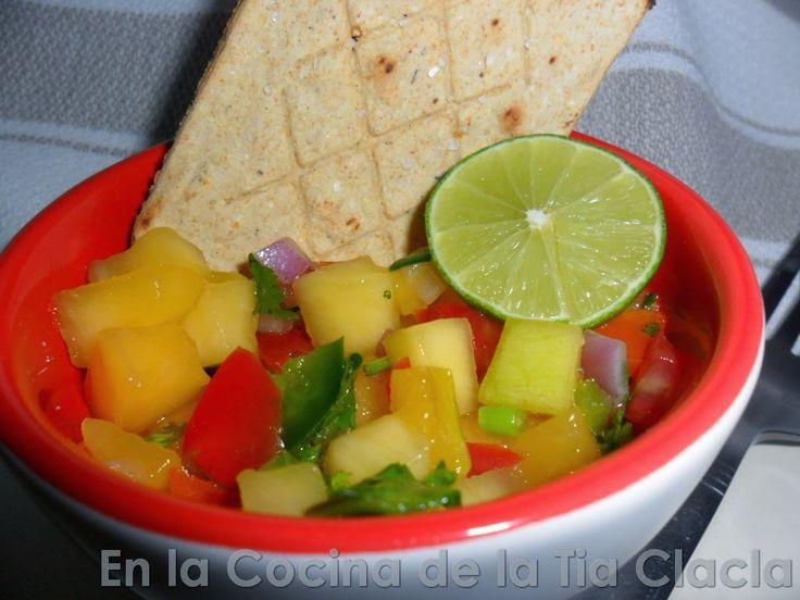 En la Cocina de la Tia Clacla: ensalada de mango