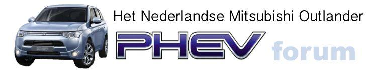 Mitsubishi Outlander PHEV forum NL