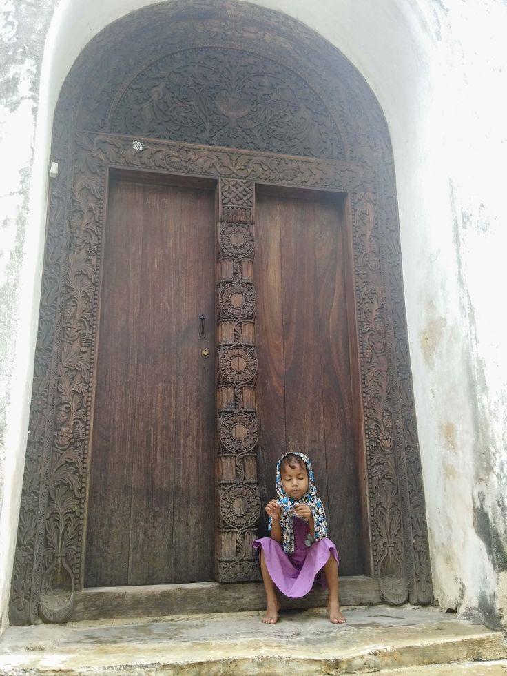 A little girl, Stone Town, Zanzibar. #Africa #Travel