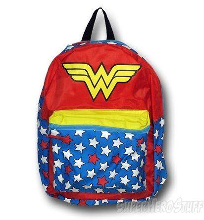 Wonder Woman Diaper Bag November 2017
