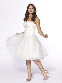 Show more information on Tea Length Ballgown Skirt