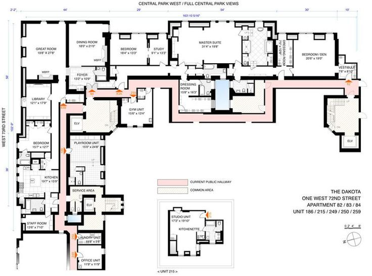 54 best floor plans images on pinterest architecture for Apartment floor plans nyc