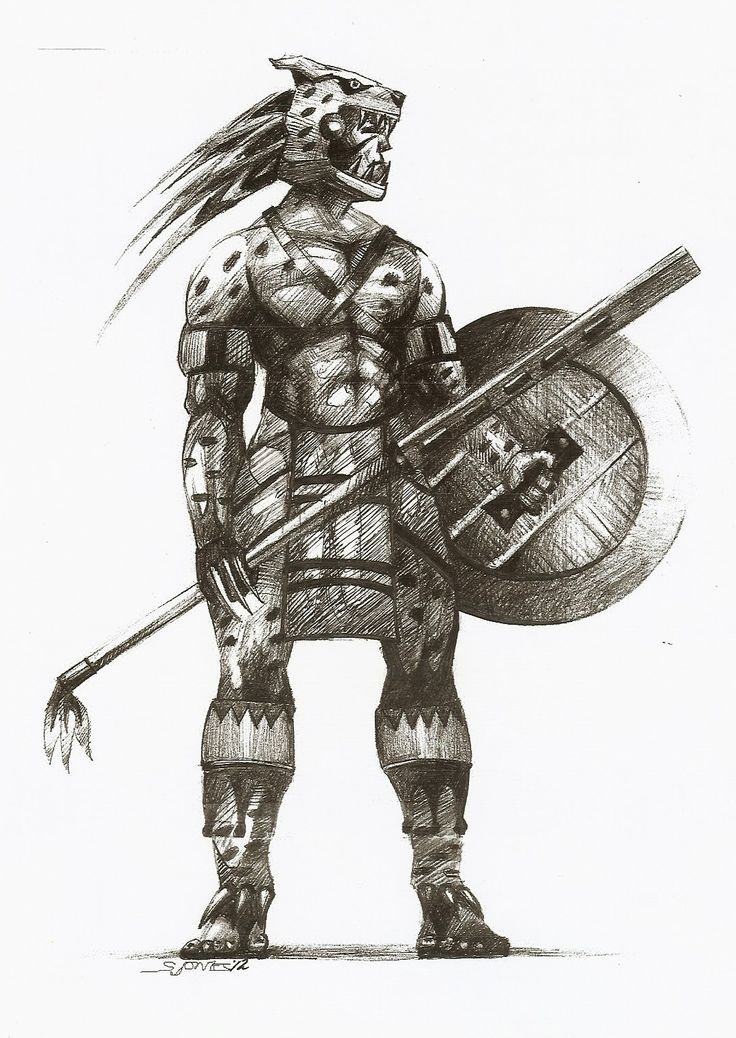 Aztec Warrior | The Macuahuitl (1/16/2012)