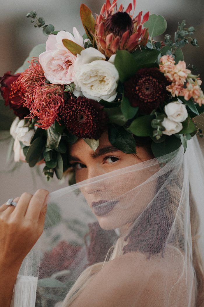 This Wedding Inspiration at San Xavier del Bac is The Epitome of Southwestern Chic