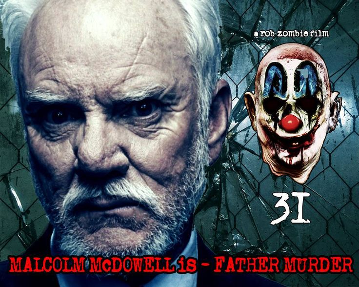 31 English Horror Movie(2016) Cast, Story, Reviews, Trailer, Images, Evil Clowns