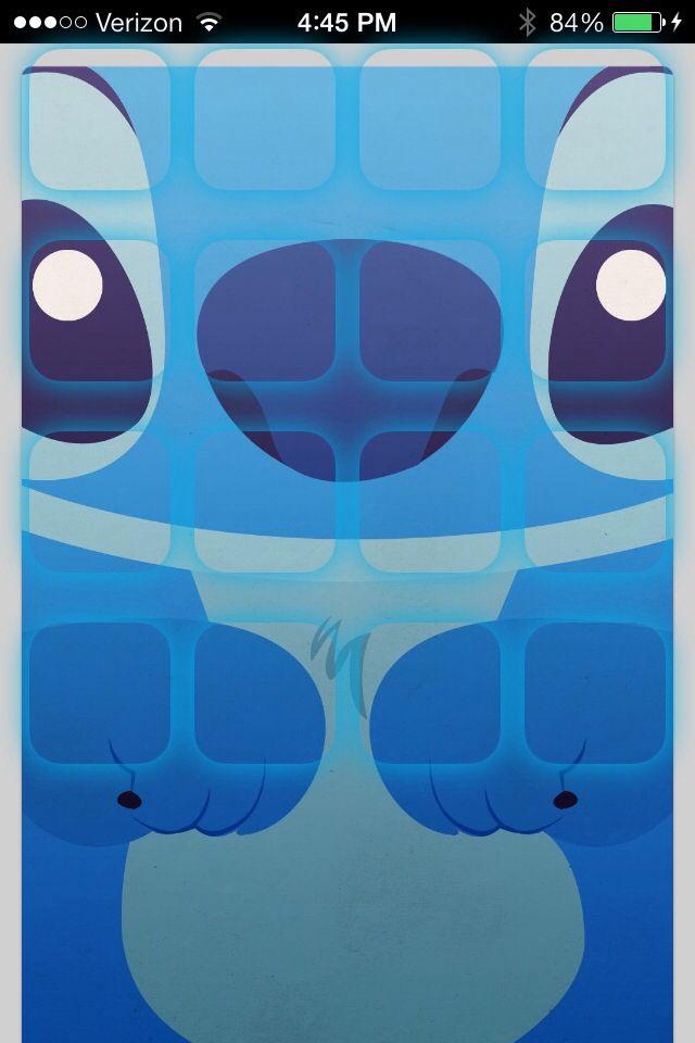 Stitch Iphone Home Screen Disney Iphone Wallpaper