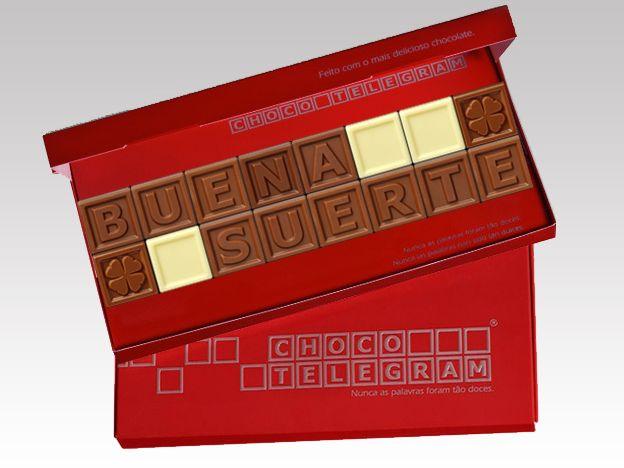 ¡Tener un día dulce con nuestros chocolates! ¡Buen día!