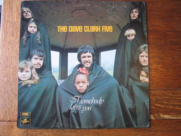 The Dave Clark Five - If Somebody Loves You. Vinyl LP.