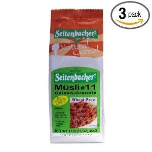 Seitenbacher Müsli #11 Golden Granola.  http://affordablegrocery.com
