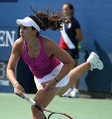 Marion Bartoli- 2013 Wimbledon women's singles champion.