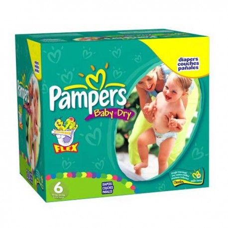 https://www.choupinet.com/couches-moins-cher/choupinet-pack-198-couches-de-pampers-baby-dry-de-taille-6