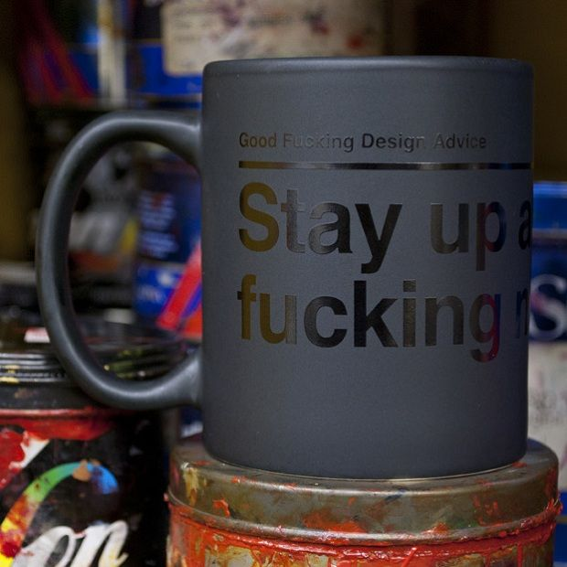 Good F*cking Design Advice Motivational Coffee Mugs | #designlife ...