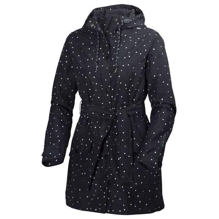Helly Hansen Lyness Coat Waterproof Hooded Rain Coat Jacket - Womens