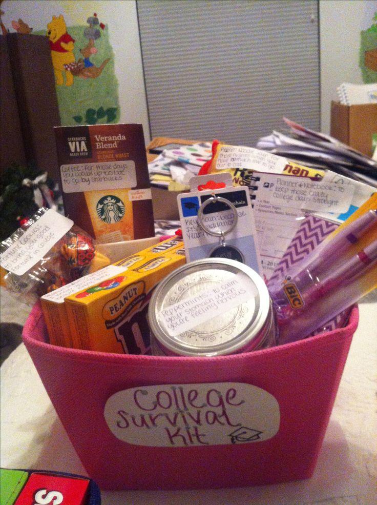 Softball senior night gift! College survival kit!                                                                                                                                                                                 More