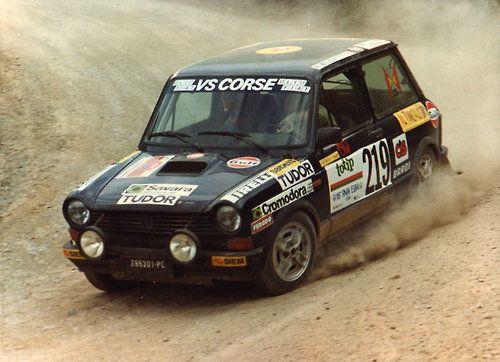 Corse Autobianchi A112 ABARTH