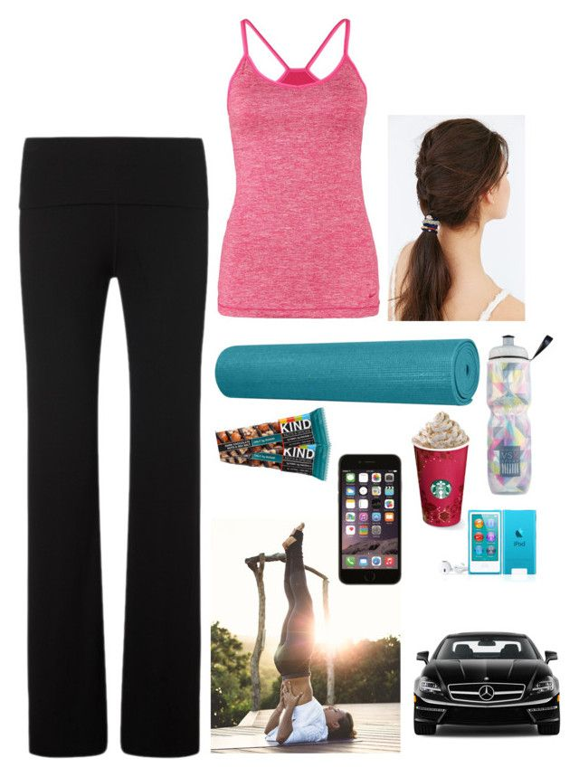 """""""Yoga"""" by engima ❤ liked on Polyvore featuring Sweaty Betty, NIKE, lululemon, Urban Outfitters, Victoria's Secret, Mercedes-Benz and plus size clothing"""