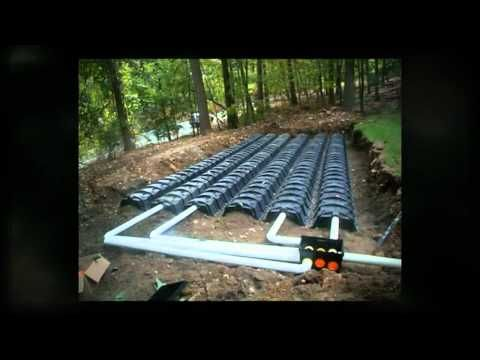 Septic system installation using infiltrator quick4 for Cabin septic systems