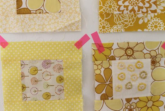 My yellow blanket, Garn-iture design
