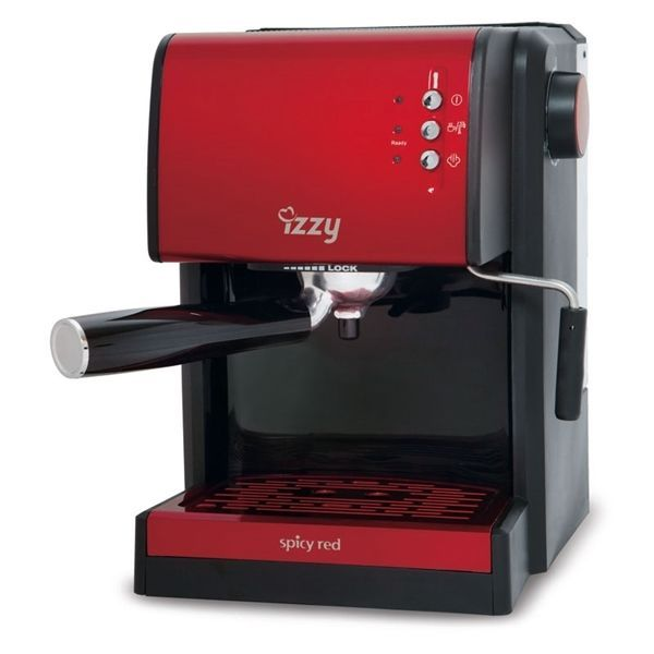 Espresso Machine Izzy CM6626A Spicy Red 15bar BRAND NEW