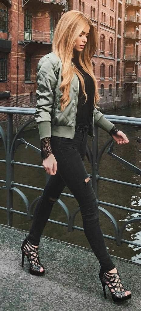 Bomber Jacket collections with embroidery, as featured on PASABOHO *Free Spirit hippie girls sharing woman outfit ideas, Fashion trend and styles from hippie chic, gypsy style and street style. We Love boho style and embroidery stitches.