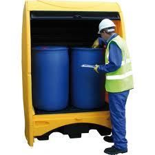 Want to prevent drips and leaks? Bunded Pallets can come handy  Spill kits are  sc 1 st  Pinterest : bunded storage cabinets  - Aquiesqueretaro.Com