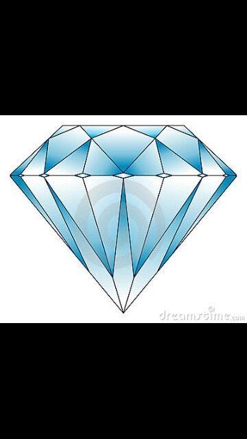 Deze diamant heb ik ook gebruikt want je ziet hier de vakken heel goed.