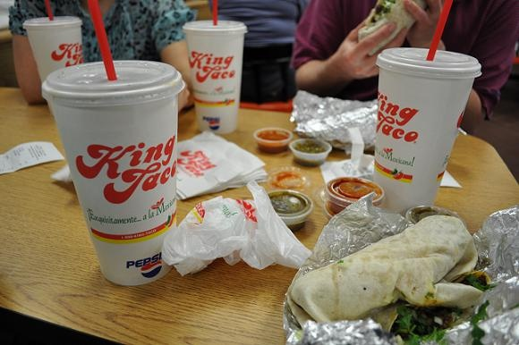 King Taco!!!!  So so want some