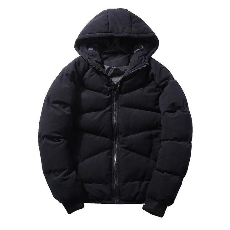 BOYUAN New Winter Jacket Men Parka Thick Warm Coat Jacket Outwear Men Casual Plus Size 5XL Winter Jacket For Men Parkas HTH35