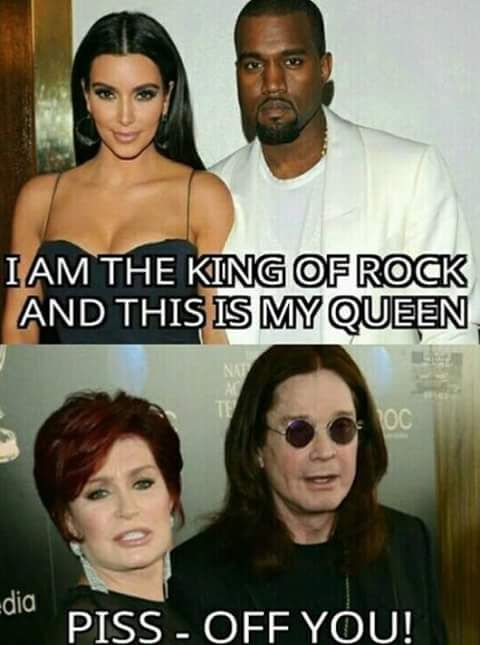HA!! Laughable! But I can't stand Sharon either so..Ozz stands alone GM