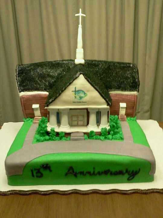 Cake Ideas For Church Anniversary : Church Anniversary cake! So yummy too! Sweet Tooth ...