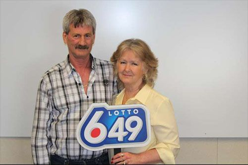 This Canadian couple Barbara and Douglas Fink are dumbfounded after winning the lottery for a third time, bagging almost £5 million.     Source has it tha