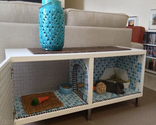 How To Make An Indoor Bunny Hutch...http://homestead-and-survival.com/how-to-make-an-indoor-bunny-hutch/