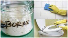 El bórax es un mineral con múltiples usos en las tareas de limpieza del hogar. Descubre cómo utilizarlo.