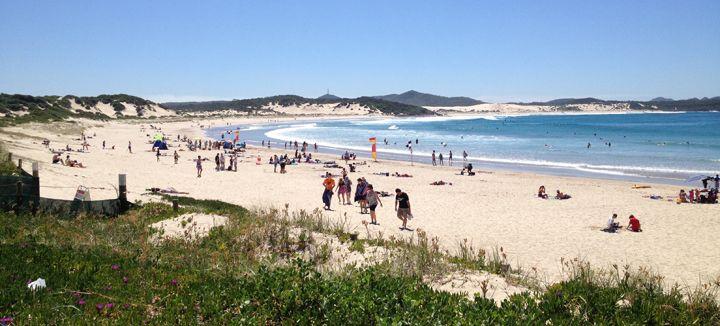 One Mile Beach, One Mile, Port Stephens #onemilebeach #portstephens