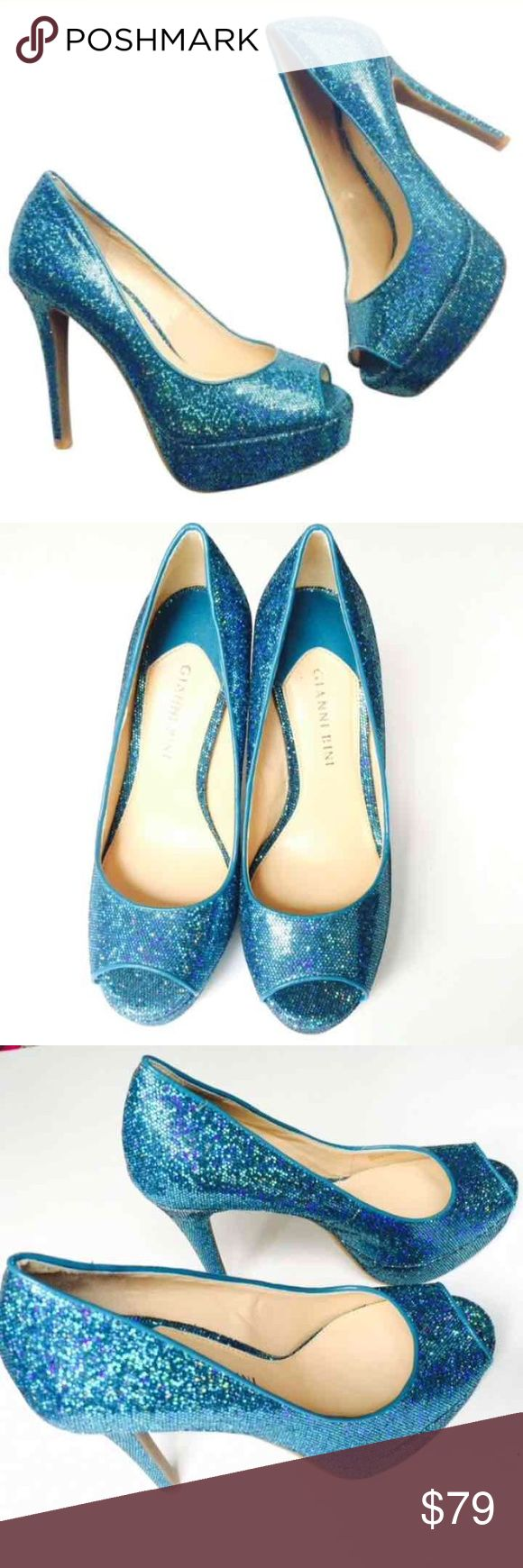 New SZ 6 Gianni Bini Heels Gianni Bini Heels Multicolored Sparkle Gorgeous On New  Size 6  Retail $139.00 Gianni Bini Shoes Heels