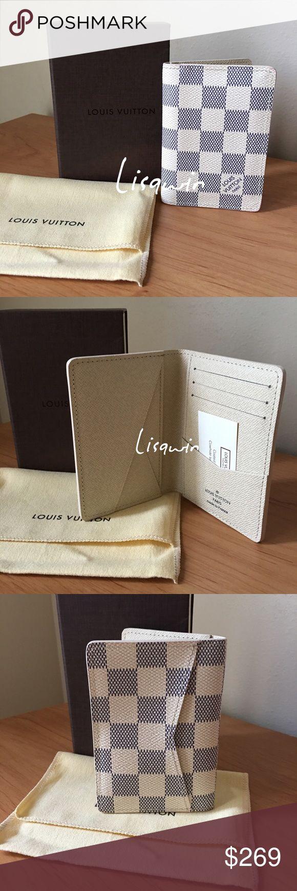 % Authentic Louis Vuitton Men's Wallet  Excellent condition, comes with dust bag, box and receipt envelope. Louis Vuitton Bags Wallets