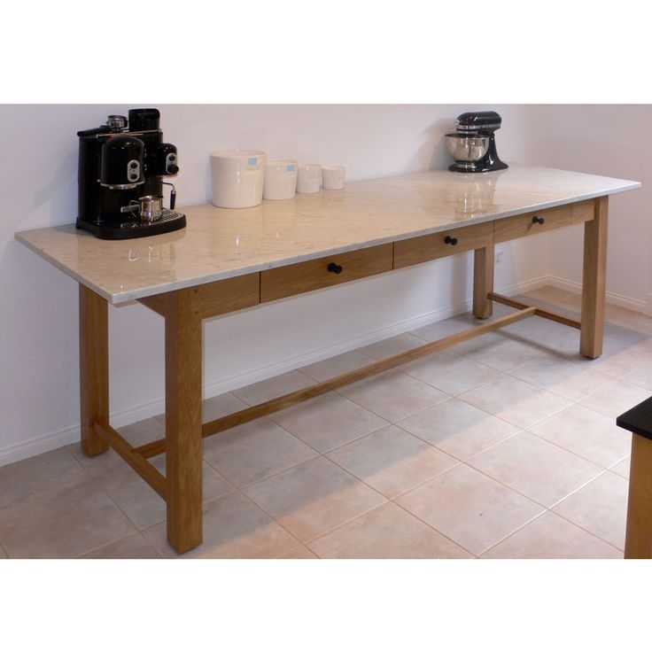 Kitchen Console Table by Anton Gerner - bespoke contemporary furniture melbourne
