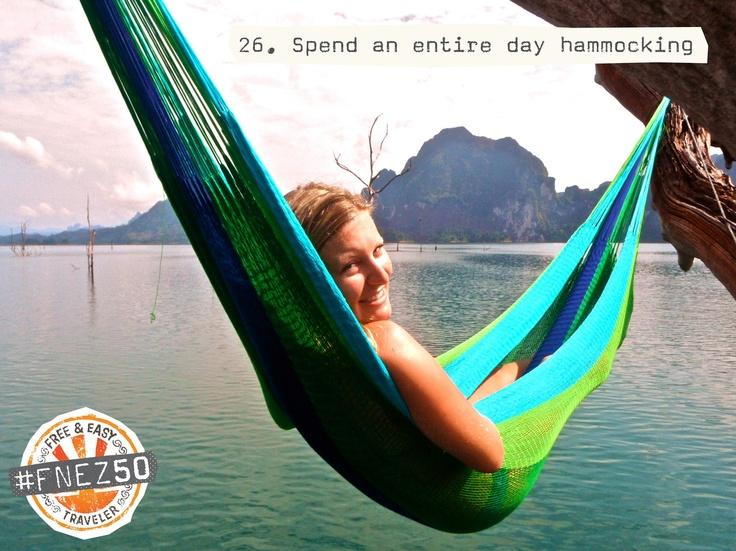 Anywhere anytime! #hammock #thailand #khaosok