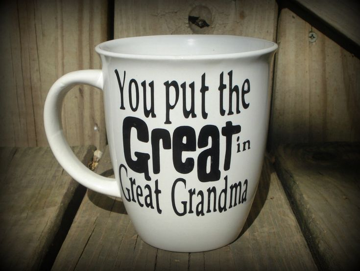 Personalized Great Grandma Cup Great Grandpa Mug Great Grandparent Gift Grandma Gift  Fathers Day Mothers Day Gift August 12 2015 at 09:42PM