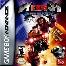 Spy Kids 3D Game Over - Game Boy Advance Game