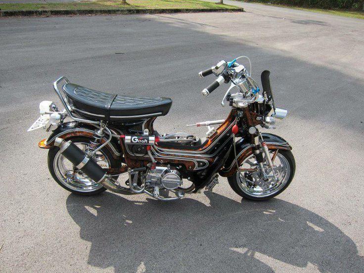 honda chaly bike honda mini bike motorcycle bike. Black Bedroom Furniture Sets. Home Design Ideas