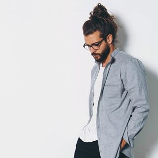 …But also totally work appropriate. | This Is What It Takes To Grow A Man Bun