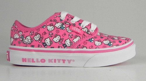 New Vans Atwood Youth size 2.5 Hello Kitty shoes //Price: $45 & FREE Shipping // World of Hello Kitty https://worldofhellokitty.com/product/new-vans-atwood-youth-size-2-5-hello-kitty-shoes/    #toys
