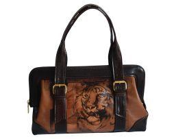 Handmade, rucna malba, hand painted, leathergoods, www.luxusne-doplnky.eu, masterpiece, hand painted leather, gustav klimt, rucne malovana, rucne malovany, malba na kozu, tiger