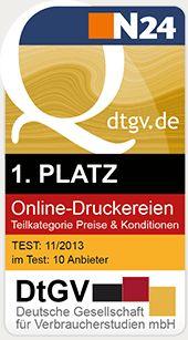 Druckerei WIRmachenDRUCK GmbH - Sie sparen, wir drucken! - Bestelloptionen: Broschüre mit Metall-Spiralbindung, Endformat DIN A4, 88-seitig