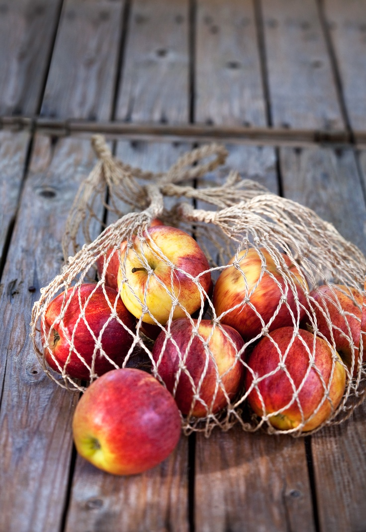 Fancy a bite of fresh apple?