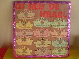 EBD Infantil - Denise Luc: Juniores - Revista 3 (Os reis de Israel)