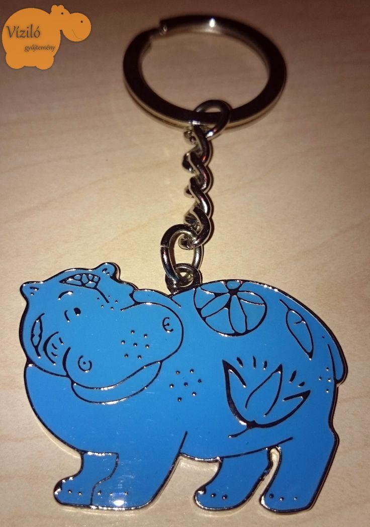 No. 530 | víziló | kulcstartó | British Museum | hippo | key holder