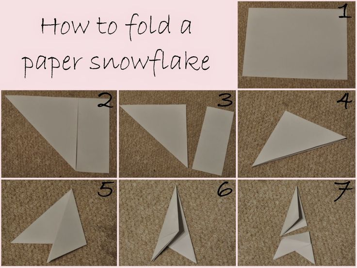 How to fold a paper snowflake Perfect for decorating your house this Christmas!