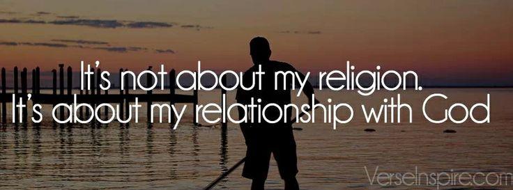 Nicht bloße Religion- sondern Beziehung!